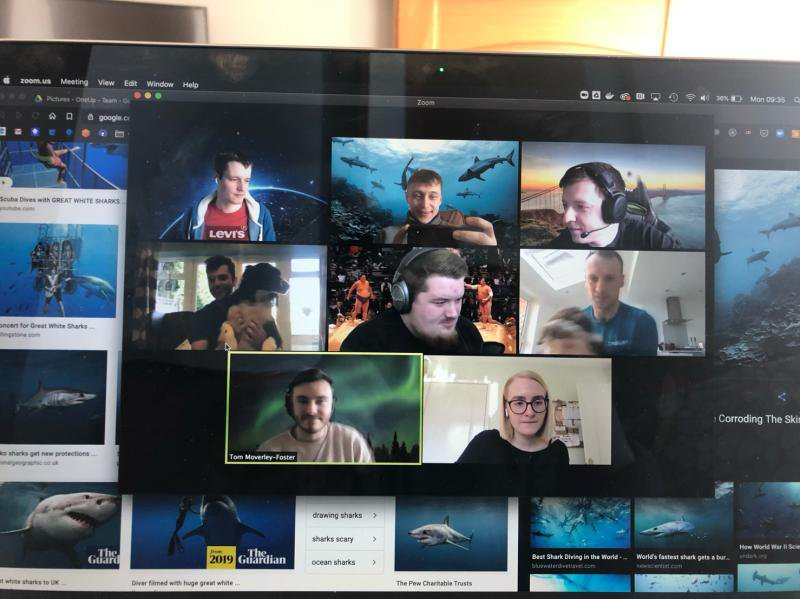 Managing the move to remote working